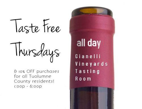 Taste Free Thursdays