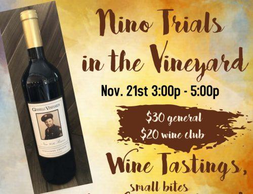 Nino Trials in the Vineyard