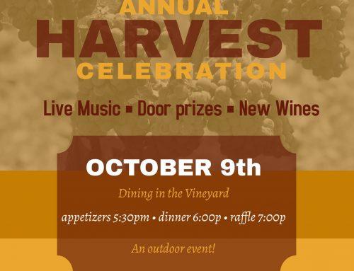 Gianelli Vineyards Annual Harvest Celebration & Dinner